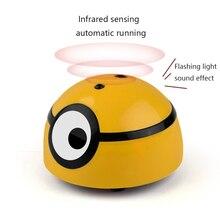 Intelligent échappant jouet chat chien marche automatique jouets interactifs pour enfants animaux capteur infrarouge jouet électrique Induction chiot jouets