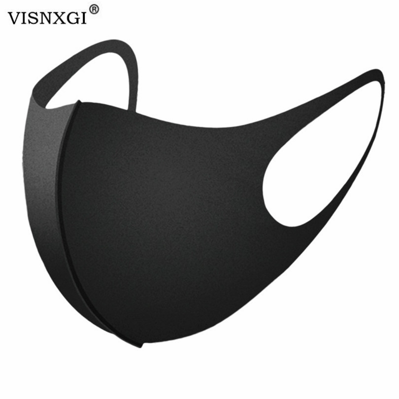 VISNXGI Anti Pollution Mouth Mask Dust Respirator Washable Reusable Masks Cotton Unisex Mouth Muffle For Allergy Asthma Travel