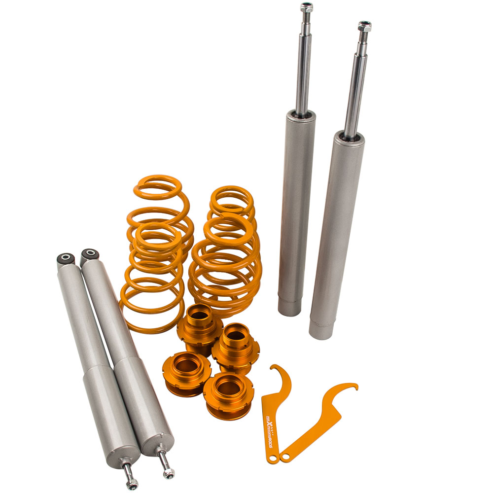 ADJUSTABLE <font><b>COILOVERS</b></font> KIT For <font><b>BMW</b></font> <font><b>E30</b></font> 3 Series SALOON & COUPE 82-91 51mm SUSPENSION Shock Absober Set image