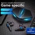 Наушники-вкладыши TWS с Gaming Headset Беспроводной Bluetooth наушники супер бас с светодиодный светильник с низкой задержкой позиционирование звука д...