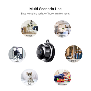 Image 5 - Petit P2P Full HD 1080P Mini sans fil WIFI IP caméra Vision nocturne Mini caméscope Kit pour la sécurité à la maison CCTV Micro caméra sans fil