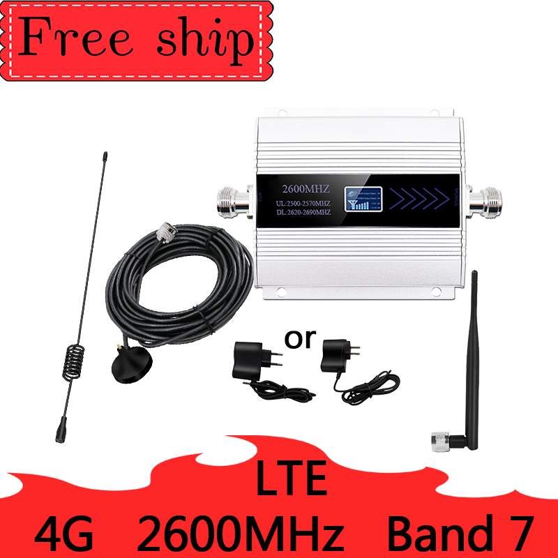 LTE DCS  2600MHZ Signal Booster UMTS 900 4g Signal Booster 4G LTE 2600MHz Cellular Signal Repeater Amplifier With Sucker Antenna