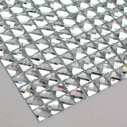 13 Randen Afgeschuinde Spiegel Diamant Glas Mozaïek Tegels Voor Muur Showeroom Kyv Vitrinekast Wallper Diy Versieren