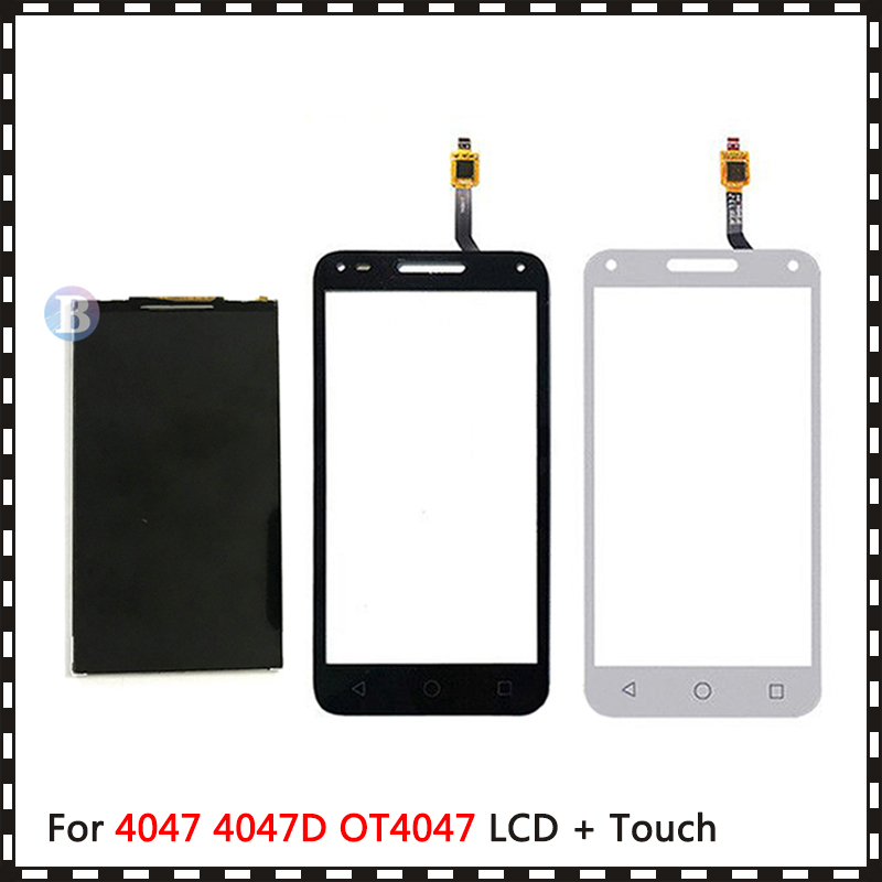 New High Quality 5.0'' For <font><b>Alcatel</b></font> One Touch U5 3G 4047 <font><b>4047D</b></font> OT4047 <font><b>Lcd</b></font> Display With Touch Screen Digitizer Sensor image