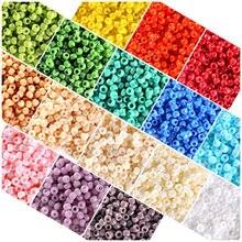 1000 pçs/lote 2mm charme tcheco contas de semente de vidro diy pulseira colar contas para fazer jóias acessórios
