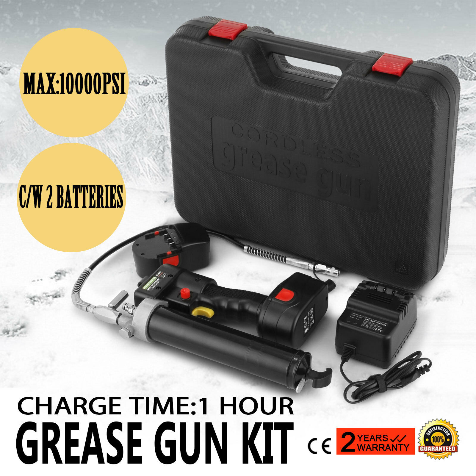 18v Volt Battery Electric Grease Gun Cordless Rechargeable Industrial Quality Garment Steamer Parts Aliexpress