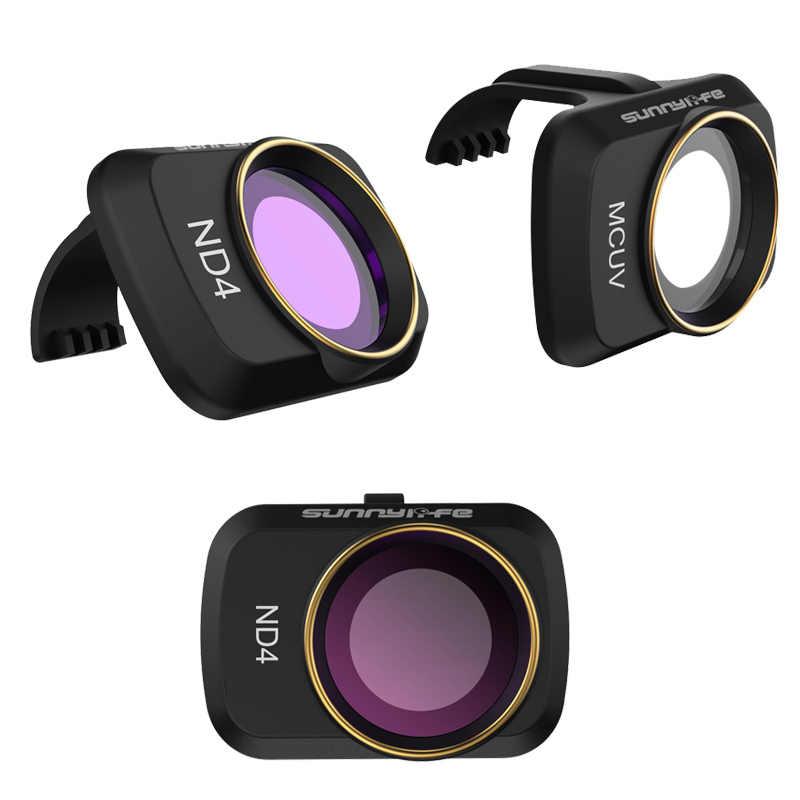 DJI Mavic عدسة كاميرا صغيرة ND/PL الاستقطاب مجموعة مرشح MCUV ND4 ND8 ND16 ND32 CPL ل DJI Mavic صغيرة ملحقات طائرة بدون طيار