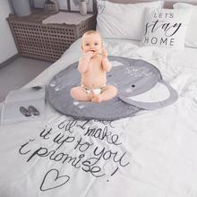 Animal Infant Cute Floor Mat Children Crawling Cotton Play Childrens Room Carpet Decoration Photo Background Rug