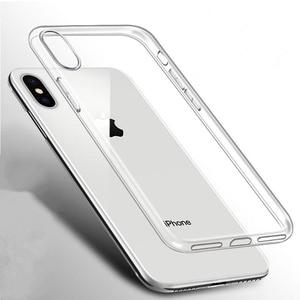 Image 2 - Rsionch Şeffaf Silikon Yumuşak TPU iphone için kılıf 11 Pro Max X XS XR XS Max Şeffaf Telefon iphone için kılıf 11Pro 6 7 8 6S Artı 5 5 S