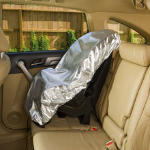 108*80 см крышка детское автомобильное сиденье Солнцезащитная алюминиевая пленка детское снаряжение автомобильный Органайзер протектор пылезащитный изоляционный блок ультрафиолетовые лучи