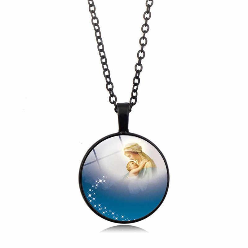 2019 nowych moda Cartoon zwierząt Neclace kobiety mężczyźni klasyczna biżuteria prezent 25mm szklana kopuła wisiorek naszyjnik akcesoria hurtowych