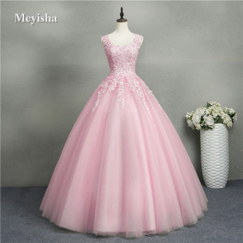 ZJ8076 Ball Gowns Sweetheart Blue Purple Red Champagne  2019 2020 Dress for Quinceanera Dresses with Pearls Plus Size 2-26W - discount item  28% OFF Special Occasion Dresses