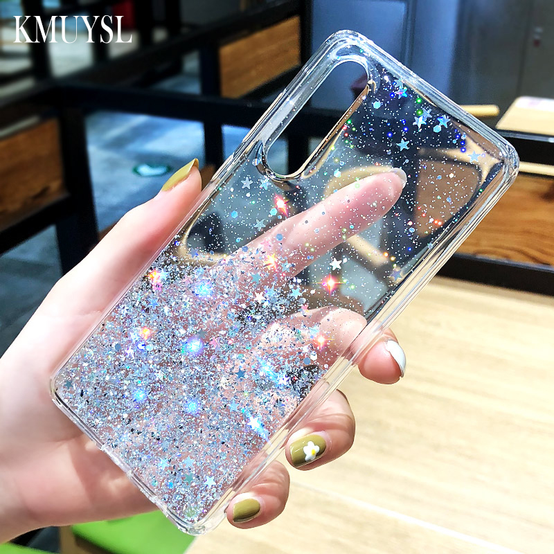 For samsung a50 Glitter Sequins Case For samsung galaxy s20 ultra s10 s9 s8 note10 plus A10 a20 a30 a40 a60 a70 a80 A71 A51 Case 1