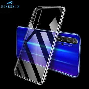 For Huawei Nova 5T 7i 7Pro 5G 7SE 3i 5i 3e 4e Case Slim Transparent Silicone Soft Clear TPU Back Case for Huawei Nova 5T Coque image