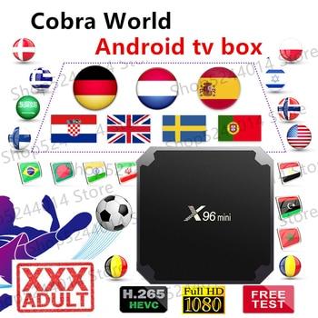Cobra world iptv x96 mini android tv box support m3u vlc smart iptv box phone x96 android 7 1 box with neotv iptv yearly code x96 mini 4k tv box with 4800 vod live iptv us uk hdmi 2 0 x96mini smart tv