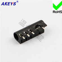 10 Pcs 4-Foot Patch Listrik 3.5 Mm Soket Headphone PJ-3618 Intercom Master Socket Audio Switch(China)