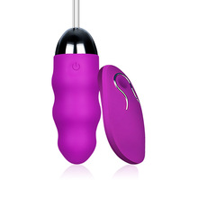 Rechargeable Wireless Remote Control Frequency Tiaodan Silicone Exercise Jump Dan Female Vibrator Dancer genius dan Adult Suppli