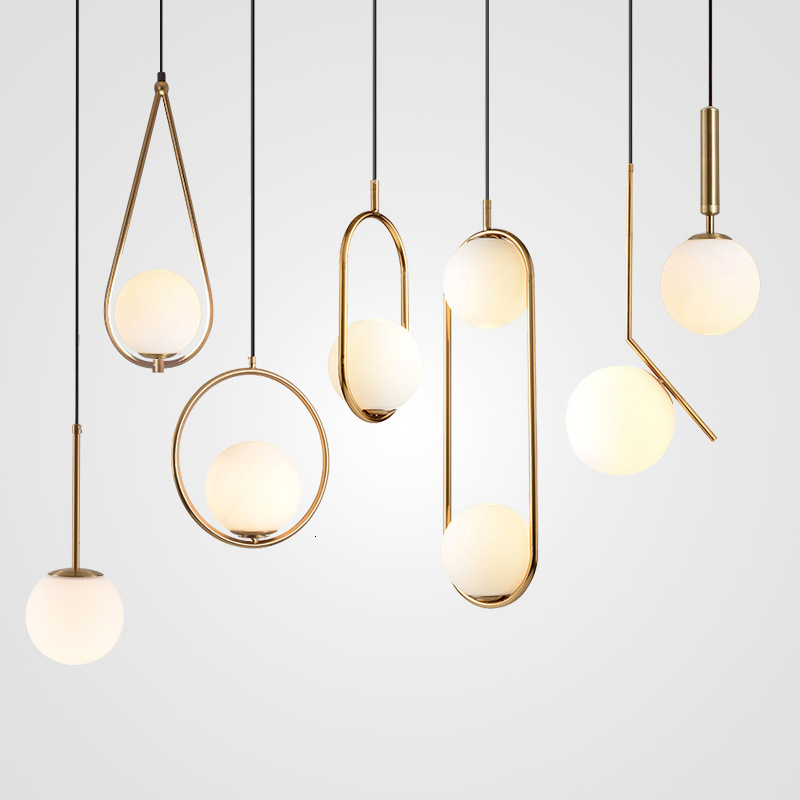 Nordic Industrial Lamp Deco Chambre Wood  Living Room  LED  Pendant Lights  Lustre Pendente Hanging Ceiling Lamps