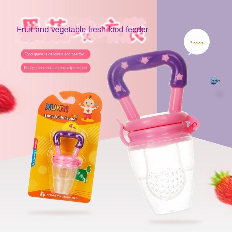 fabrica atacado bebe mordendo frutas e legumes musica encapsulado chupeta mordida saco bebe suplemento alimentar mordida