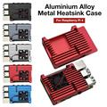 Для Raspberry Pi 4 b-типа алюминиевый сплав металлический теплоотвод CNC защитный чехол пассивный охлаждающий корпус радиатор металлический чехол