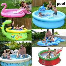 Inflatable pool Water playing pool in Summer Water Park Swim Center Family Swimming Pool Outdoor Toys for Children Adults