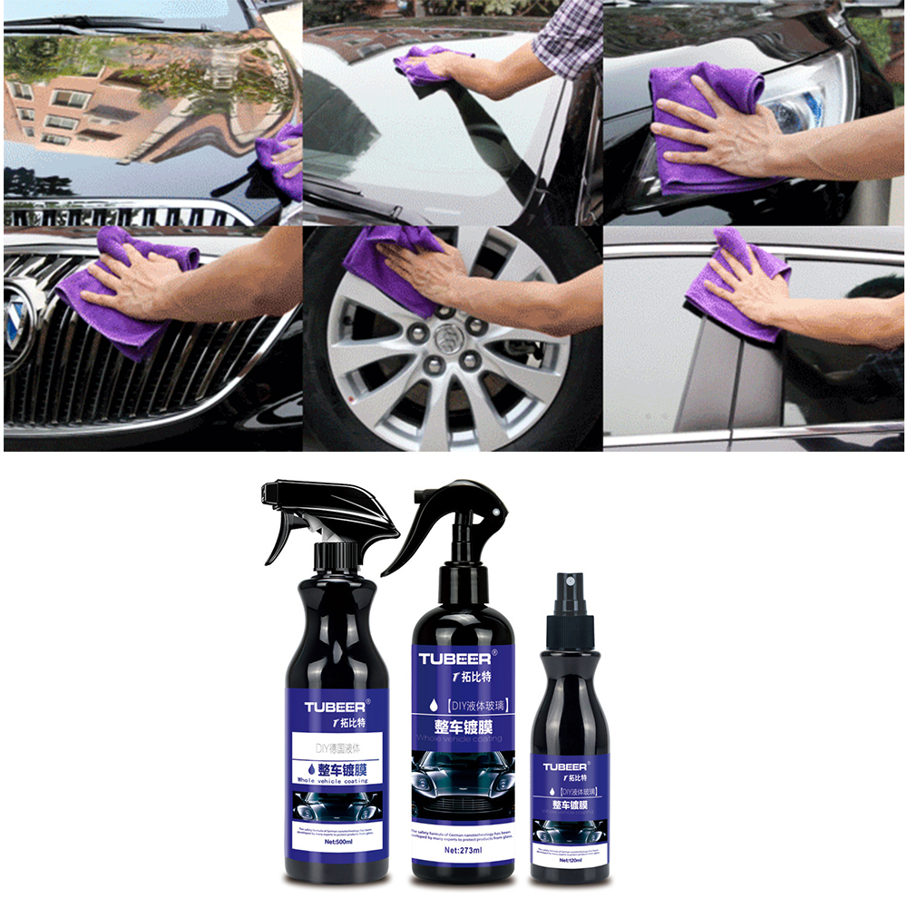 120/300/500ML Car Nano Coating Polishing Spraying Wax Painted Car Care Nano Hydrophobic Coating Auto Maintenance Accessories