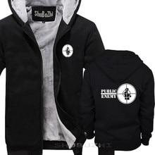 ผ้าฝ้ายฤดูหนาวฤดูใบไม้ร่วง hoody ศัตรูสาธารณะ hoody Old Skool RAP HIP HOP ต่อสู้ Power FK ตำรวจ DEF JAM casual hoodie sbz5460