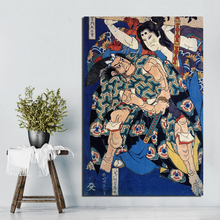 Katsushika Hokusai Canvas Painting Prints Wall Pictures For Living Room Home Decor Modern Wall Art Oil Painting Posters Pictures hokusai manga