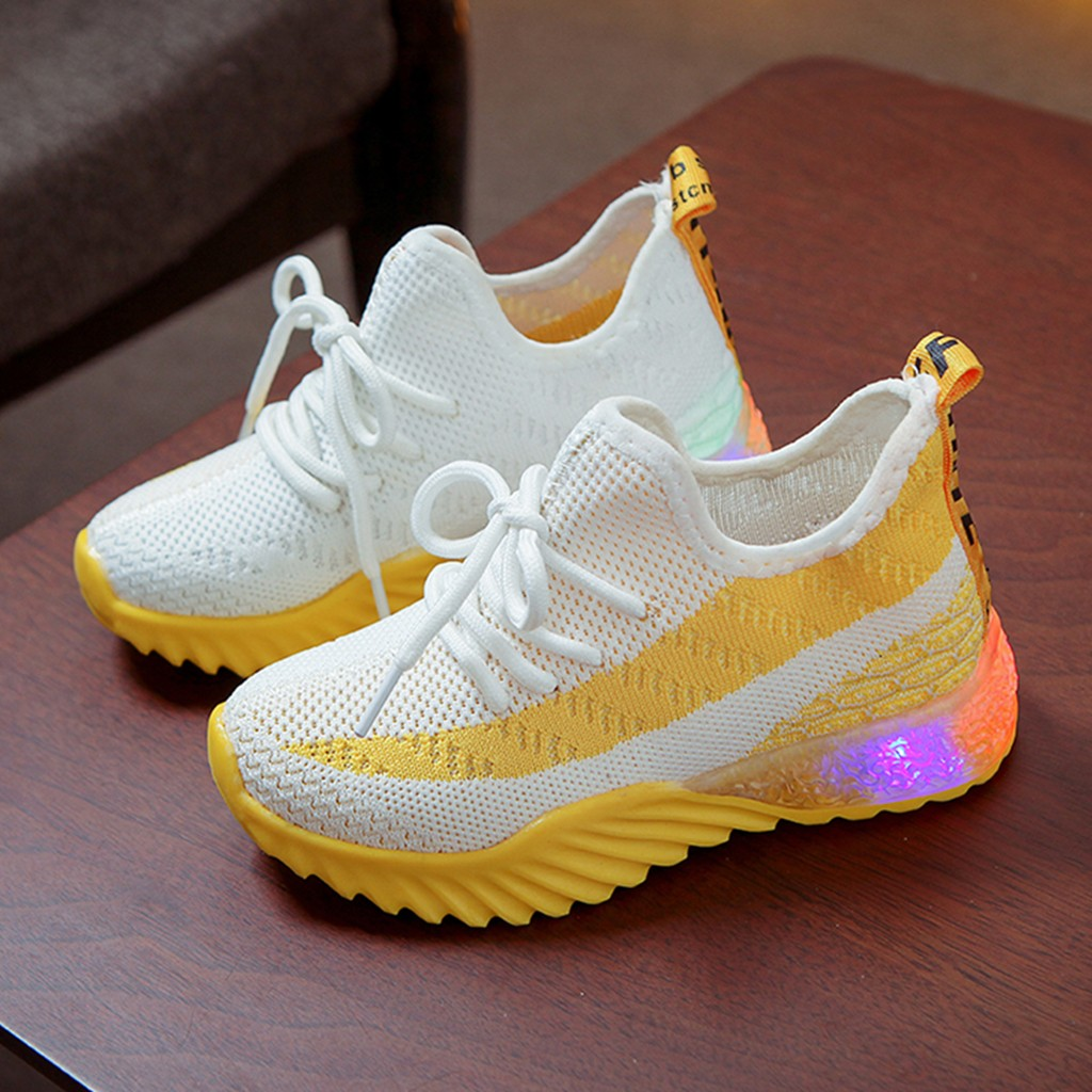 LED Comfort Cool Run Sport Sneakers 5
