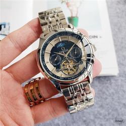 Топ бренд Роскошные автоматические механические часы мужские часы керамика сапфир светящийся календарь механические часы 007 9142