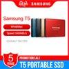 סמסונג T5 נייד SSD 500GB 1TB 2TB USB3.1 חיצוני מצב מוצק כונני USB 3.1 Gen2 ואחורה תואם עבור מחשב MAC