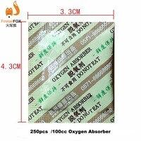 250 bolsas de absorbentes de oxígeno de grado alimenticio cO2 absorbentes Absorbedores de humedad     -