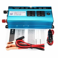 Auto Inverter 3000W Auto Solar Power Inverter LCD DC 12/24 V zu AC 220V Modifizierte Sinus welle USB Konverter Ladegerät Konverter Adapter-in Auto Wechselrichter aus Kraftfahrzeuge und Motorräder bei
