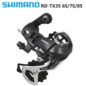 SHIMAN0 RD-TX35/TY300 esfera trasera 6S/7S/21 velocidad 8S/24 velocidades bicicleta de montaña universal desviador trasero negro a estrenar
