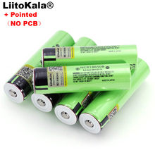 Liitokala nowy akumulator litowy NCR18650B 3.7v 3400 mAh 18650 ze spiczastymi bateriami (bez PCB)