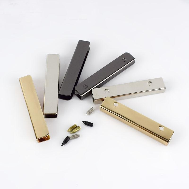 5cm Bag Purse Decoration Corners Metal Buckles Bag Corner Screws Clip Edges Protector