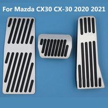 Для mazda cx30 cx 30 2020 2021 акселератор топливный тормоз