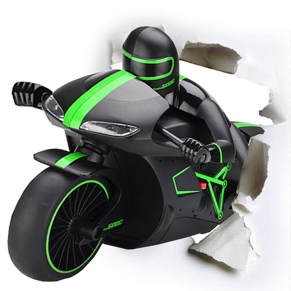 2.4G 4CH Mini RC High Speed Drift Motorbike Motorcycle Model with Light Kids Robot RC Motorbike Toys for Gifts
