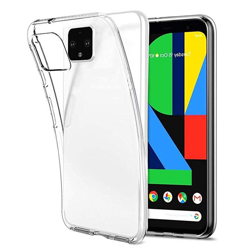 Прозрачный мягкий ТПУ чехол для Google Pixel 4 5 3A 3 2 XL силиконовый чехол для мобильного телефона чехол для Google Pixel 4 5 4A Pixel4 Pixel3 Pixel2 3A XL чехол