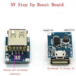 Image 2 - Lithium Battery Module Protection Li ion Charger 134N3P Power Converter Regular Voltage 5V 1A Step Up Charging Board Micro USB