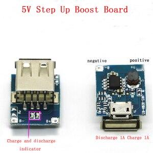 Image 2 - Modulo Batteria al litio di Protezione Li Ion Caricatore 134N3P Convertitore di Potenza Regolare Tensione 5V 1A Step Up a Bordo di Ricarica Micro USB