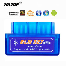 2019 Super Mini ELM327 Bluetooth V1.5 OBD2 Car Diagnostic Tool ELM 327 Bluetooth For Android/Symbian For OBDII Protocol