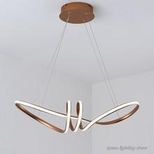 Modern Simple Home Decor LED Pendant Lights Dining Room Kitchen Hanging Light Fixture Restaurant Bar Metal Iron Art Pendant Lamp