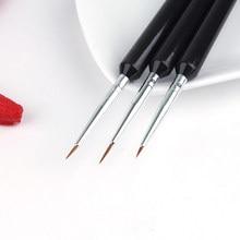 Ferramentas de arte do prego caneta pincel desenho tarja forro de desenho tarja diy ferramenta de pontilhamento de unhas diy forro pincel de desenho