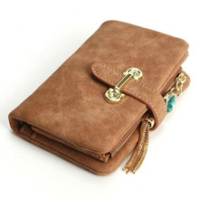 2019 Luxury Wallet Female pu Leather Women Leather Purse solid Wallet Ladies Hot Change Card Holder Coin Small Purses For Girls