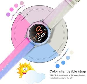 Image 2 - Fashion Women Smart Watch Waterproof Heart Rate Blood Pressure Monitor Smartwatch Gift For Ladies Watch Bracelet Full Touch