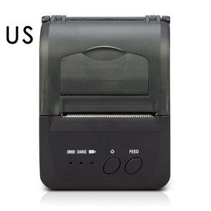 58mm Máy In Nhiệt Nhỏ USB In Hóa Đơn In Tiện Lợi POS-5809DD Di Động Không Dây Máy In