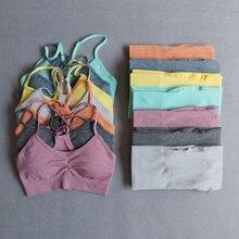 Бесшовный Набор для йоги комплект из 2 предметов одежда тренировок