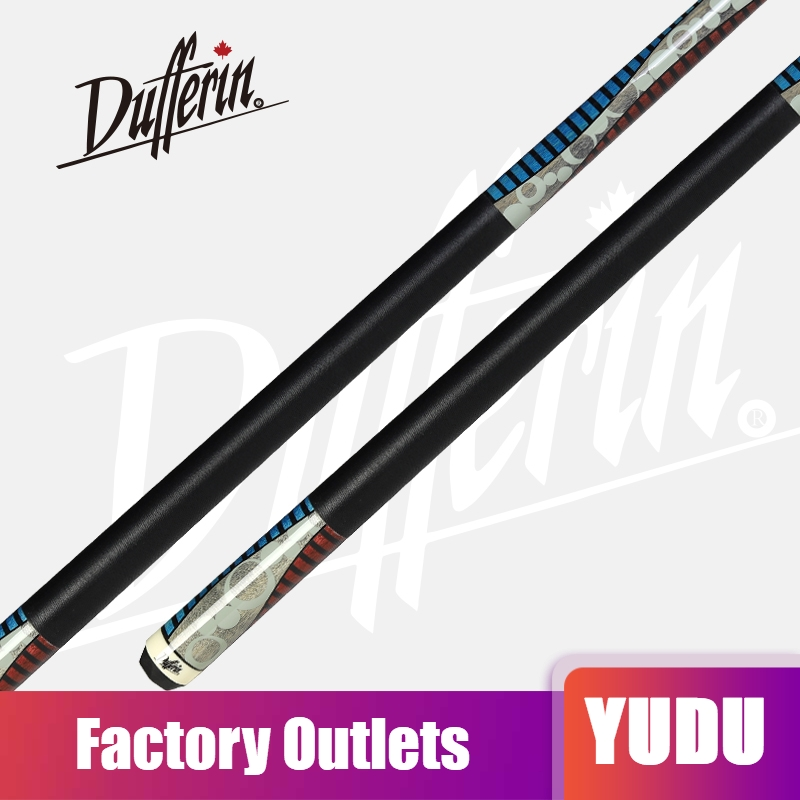 Original Dufferin 527 Billiards Cue 13mm Tiger Everest Tip Technology Handmade Professional Kit Stick Maple Pool Cue China