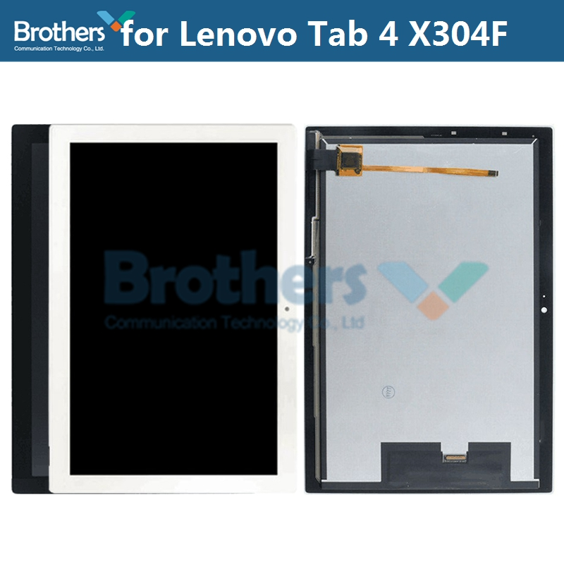 For Lenovo Tab 4 10 TB-X304L X304F X304 LCD Screen With Touch Screen Digitizer LCD Display TB-X304F Panel LCD Assembly Test Top